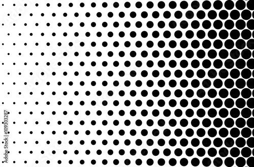 Basic Halftone Dots Effect In Black And White Color Halftone Effect Dot Halftone Black White Halftone Halftone Background Right To Left Buy This Stock Illustration And Explore Similar Illustrations At Adobe
