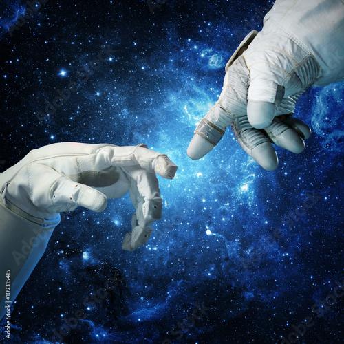 Obraz na płótnie palec boży