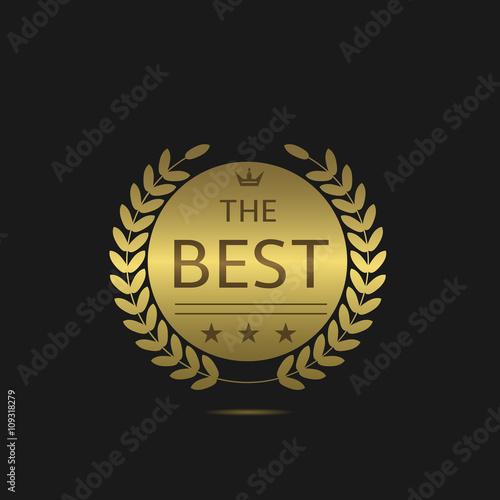 Fotografía  The Best label