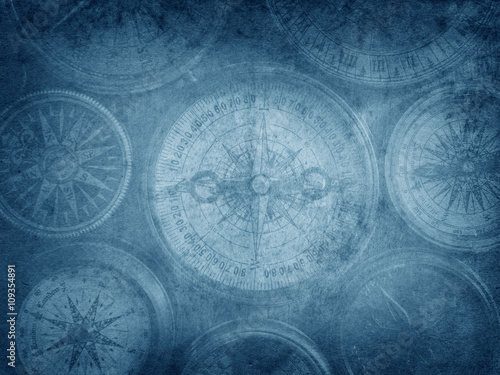 Tuinposter Schip Travel and nautical theme grunge background