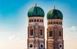 canvas print picture - Münchner Fraunkirche