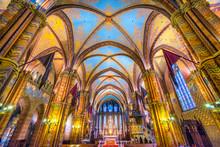 Budapest,  Mathias Cathedral, ...
