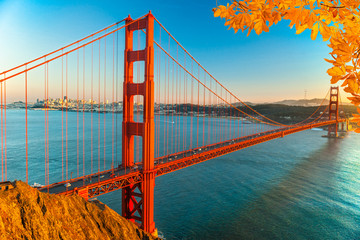 Obraz na SzkleGolden Gate, San Francisco, California, USA.