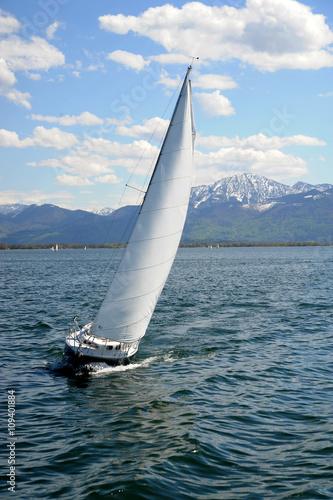 Fotobehang Oceanië Sailboat