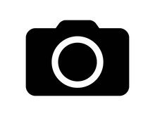 Photography Camera Flat Icon For Apps And Websites