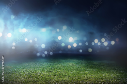 Fotografie, Tablou  Football stadium background