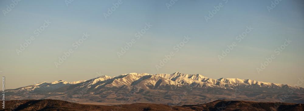 Fototapety, obrazy: Crazy Mountain Panorama