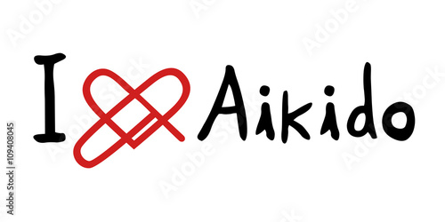 Aikido love icon - 109408045