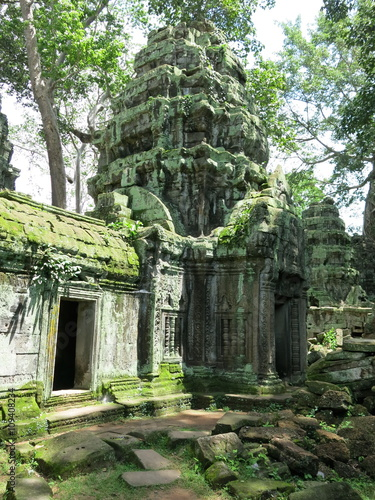 Poster Ruine Preah Kahn temple, Cambodia