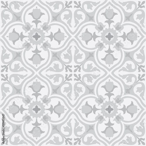 Vector seamless pattern background in grey. Fototapete