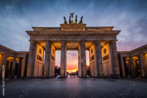 Poster Berlin Berlin - Brandenburger Tor
