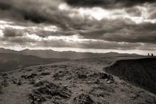 Helvellyn Peak, Lake District,...