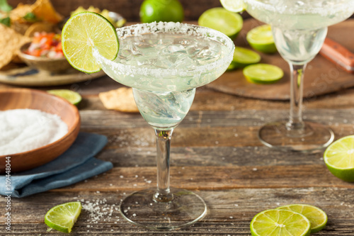 Fotografia  Refreshing Homemade Classic Margarita