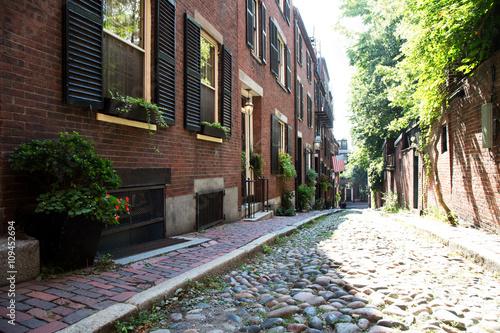 Fototapety, obrazy: Accorn Street, Boston