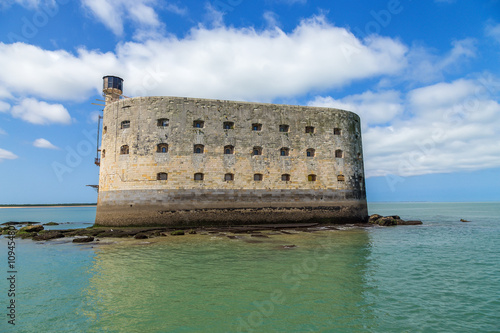 Foto auf Leinwand Befestigung Fort Boyard in the Strait of Antioshe