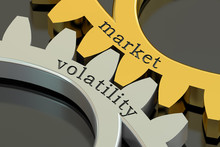 Market Volatility Concept, 3D ...