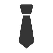 Tie Flat Icon. Illustration Fo...
