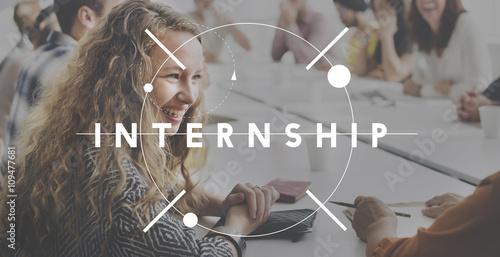 Photo Internship Learning Career Preparation Concept