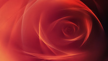 Abstract Red Rose Background