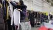 Crowd Of Women Shopping