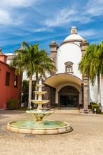 Hotel Courtyard In Maspalomas,...