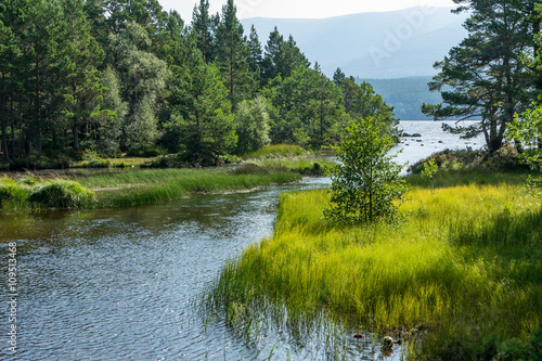 Photo Loch Morlich near Aviemore