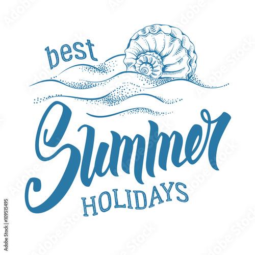Wallpaper Mural Best Summer Holidays