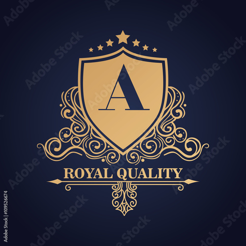 Foto  emblem royal quality design