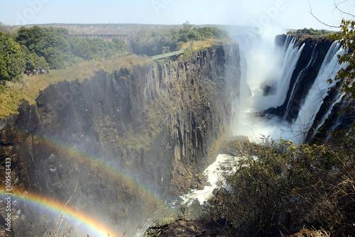 Wall Murals Waterfalls Victoria Falls, Zambia