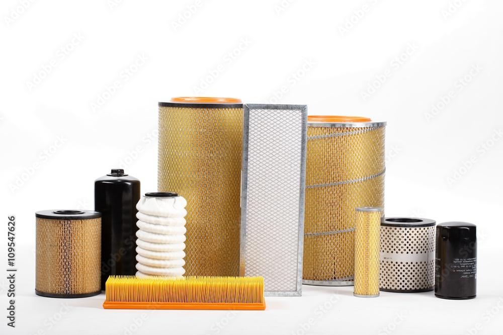 Fototapeta car filter close-up
