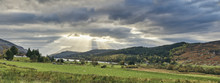 Panoramic Landscape Of Loch Lo...