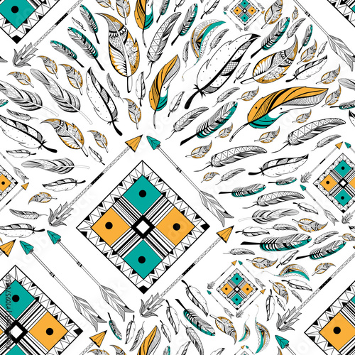 arrow-and-feather-for-tribal-boho-style-seamless-pattern