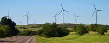 Wind Turbines In Oklahoma.