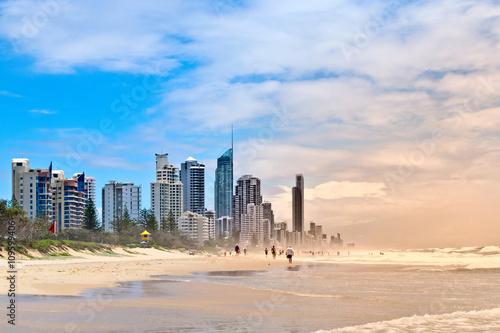 Fotografija  Gold Coast beach