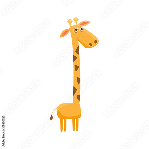 Photo  Giraffe Funny Illustration