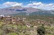 Town of Roblelacasa, black town of Guadalajara (Spain)