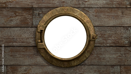 Fotografia  Ship's Port hole