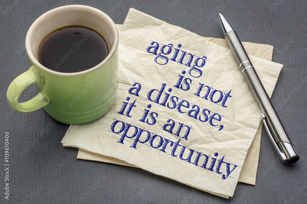 Fototapeta aging is not a disease