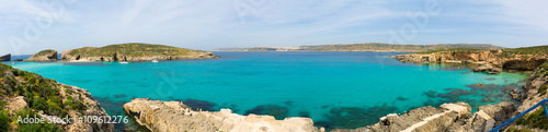 Blue lagoon in Malta Poster Mural XXL