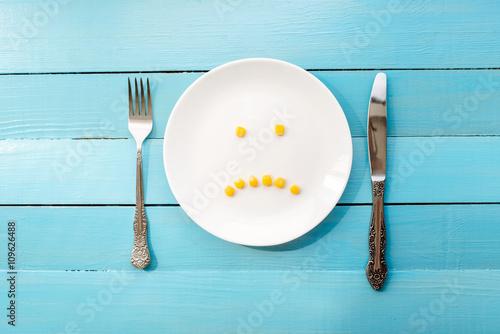 useful vegetables lie on a plate