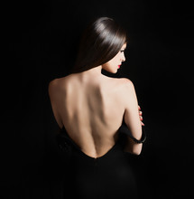 Back Of A Sexy Woman
