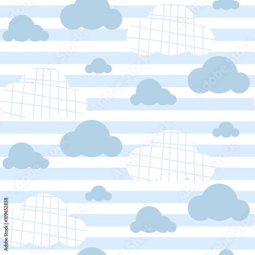 chlopiec-wektor-wzor-jasnoniebieskie-chmury-nieba-chmury-nadruk-na-tkaninie-dekoracja-pokoju-dzieciecego-na-sciane