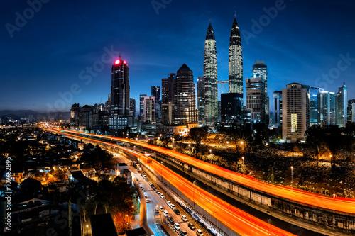Canvas Prints Kuala Lumpur Kuala lumpur skyline