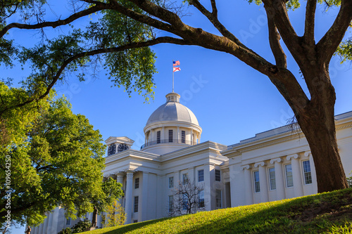 Alabama State Capitol Front Right Angle: