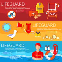 Lifeguards Banner Professional...