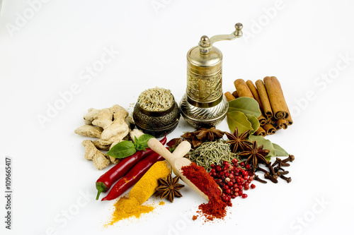Canvas Prints Spices Baharatlar