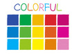 Colorful Color Tone without Code Vector Illustration
