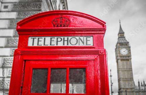 Türaufkleber London roten bus London telefonzelle