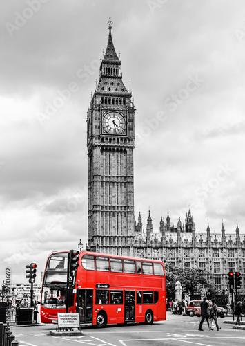 Fotografie, Tablou  Big Ben London