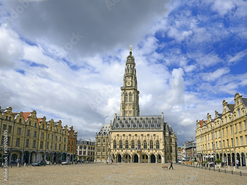 Town hall in Arras Canvas Print